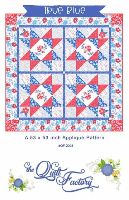 True Blue Applique Pattern/The Quilt Factory