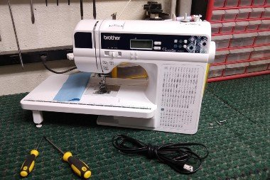 Sewing machine repair at Jones Sew and Vac Boise.