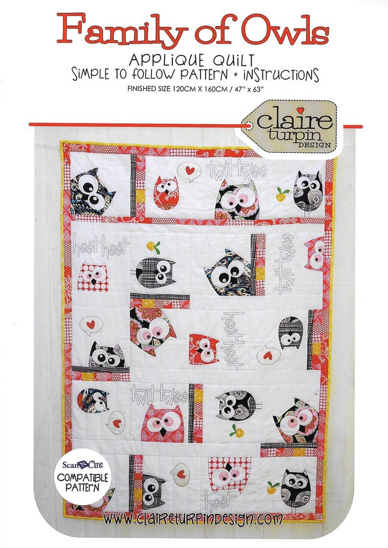 Family of Owls - Claire Turpin Design
