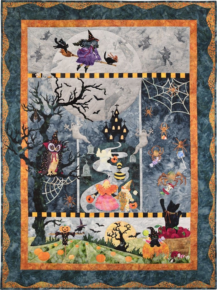 Once in a Boo Moon Quilt Kit