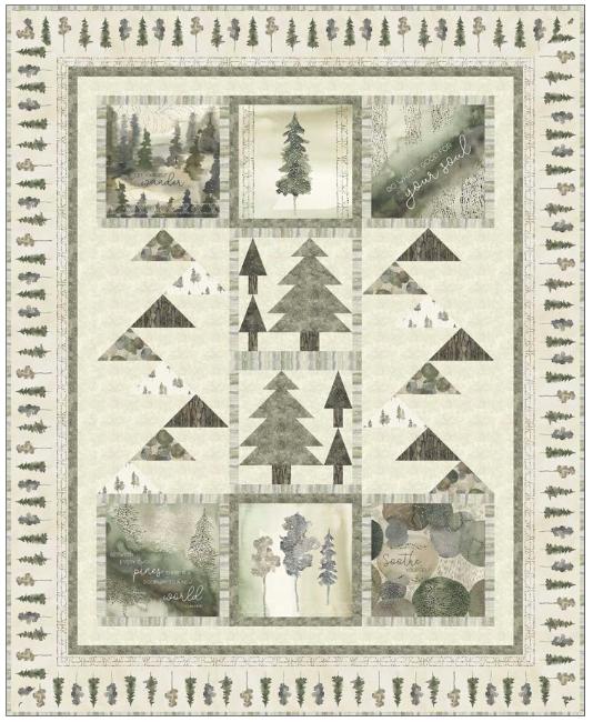 Forest Retreat Quilt Kit
