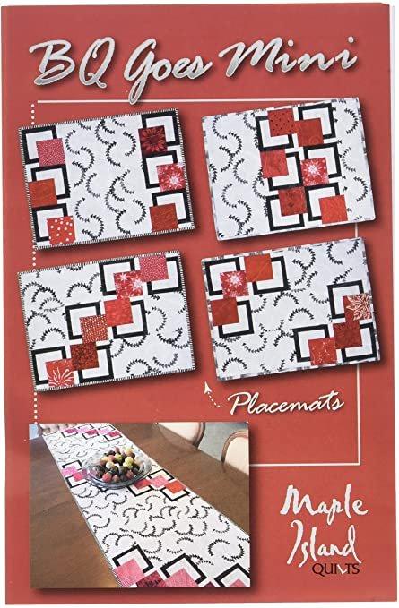 BQ Goes Mini Placemat Kit