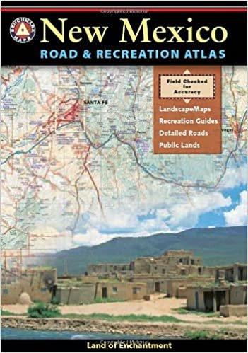 New Mexico Road & Recreation Atlas