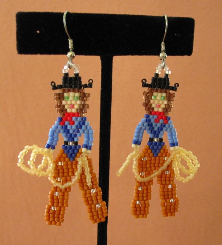 Cowgirl Earrings