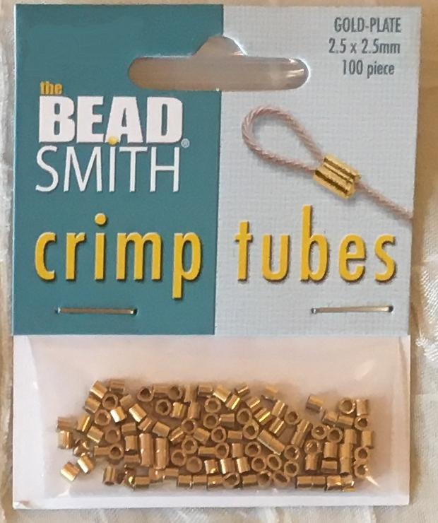 Crimp Beads 2.5x2.5mm Tube Crimp