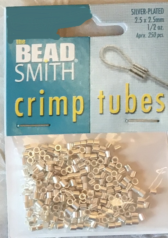 Crimp Beads 2.5x2.5mm Tube Crimp Bulk