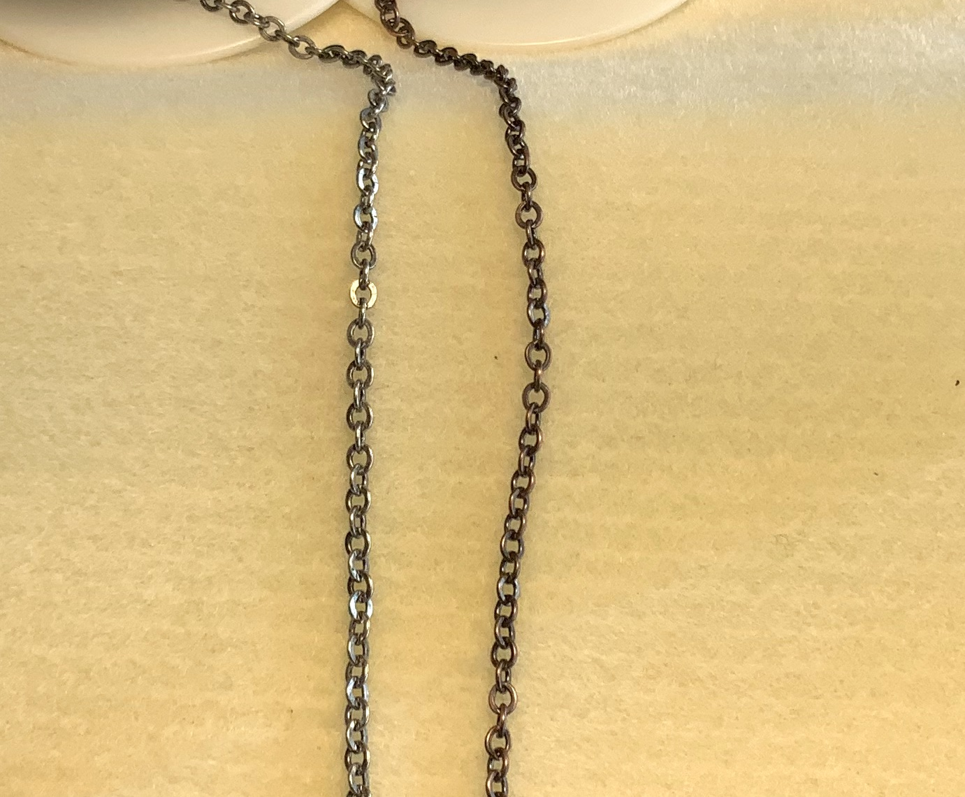 Flattened Cable Chain