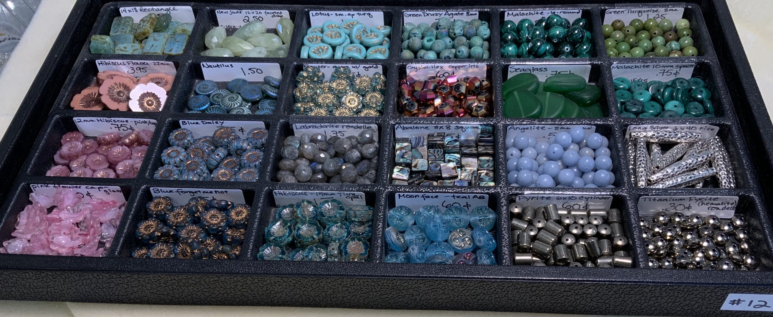 Loose Beads Tray #12