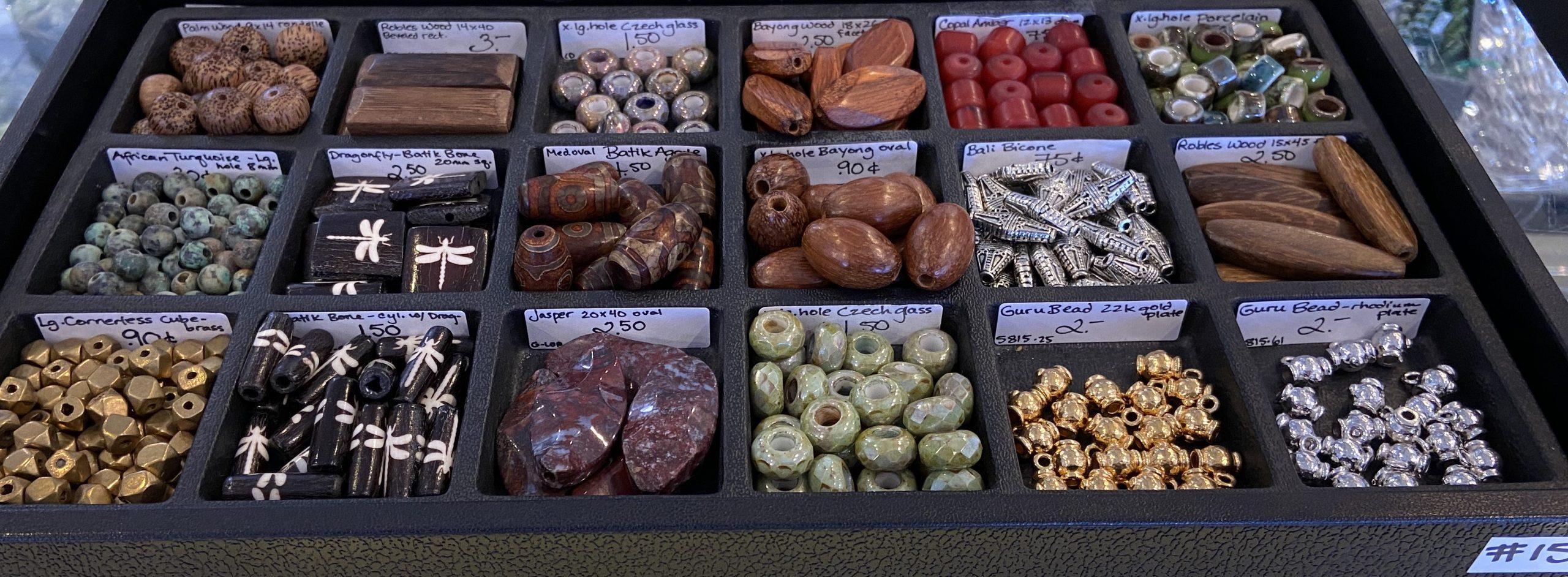 Loose Beads Tray #15 (Large Hole)