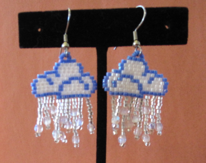 Rain Cloud Earrings