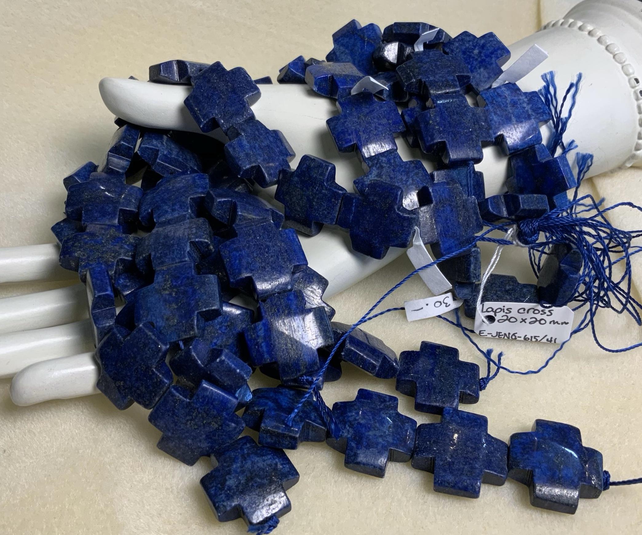 Lapis-Lazuli Cross