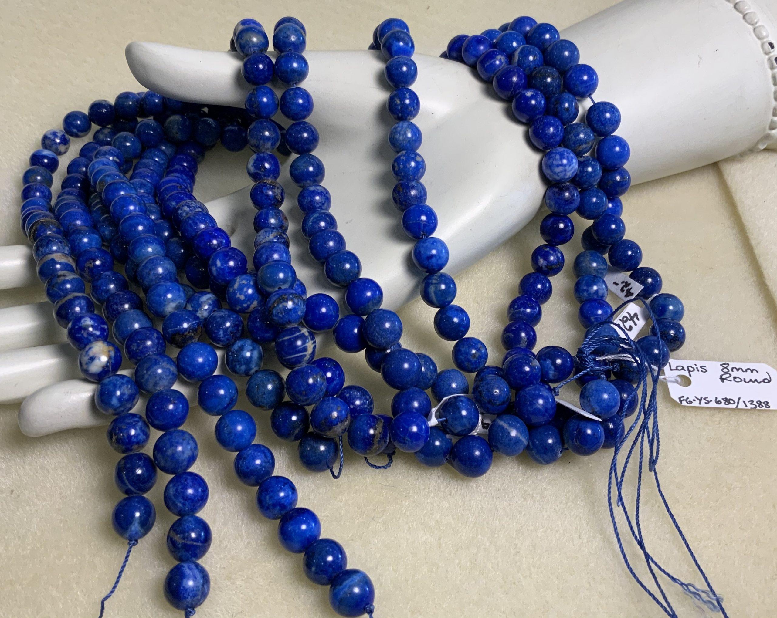 Lapis-Lazuli 8mm Round