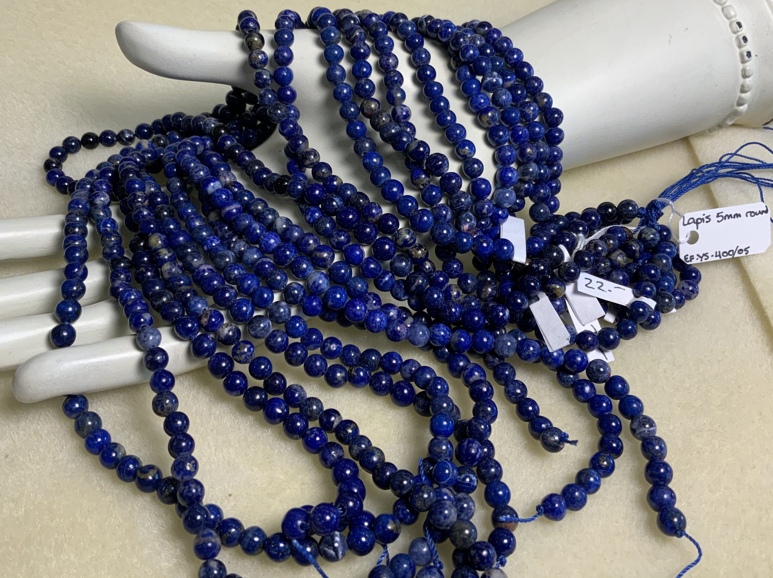 Lapis-Lazuli 5mm Round
