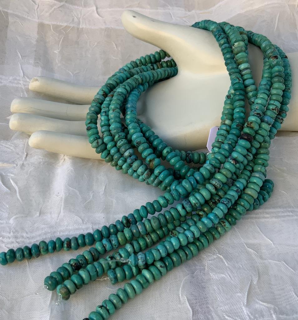 Turquoise 5-6mm irregular Disc