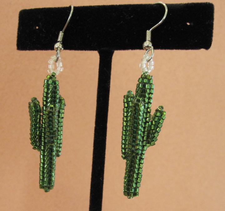 Saguaro Cactus Earrings