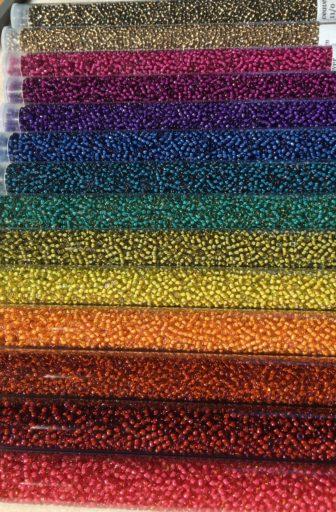 Rainbow Earthy Seed Bead Set