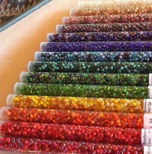 Rainbow Mixes Seed Bead Set