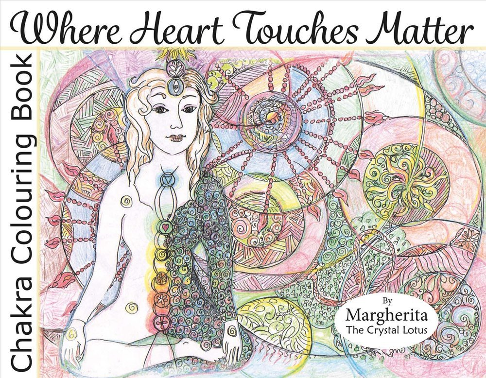 Where Heart Touches Matter - Chakra Coloring Book