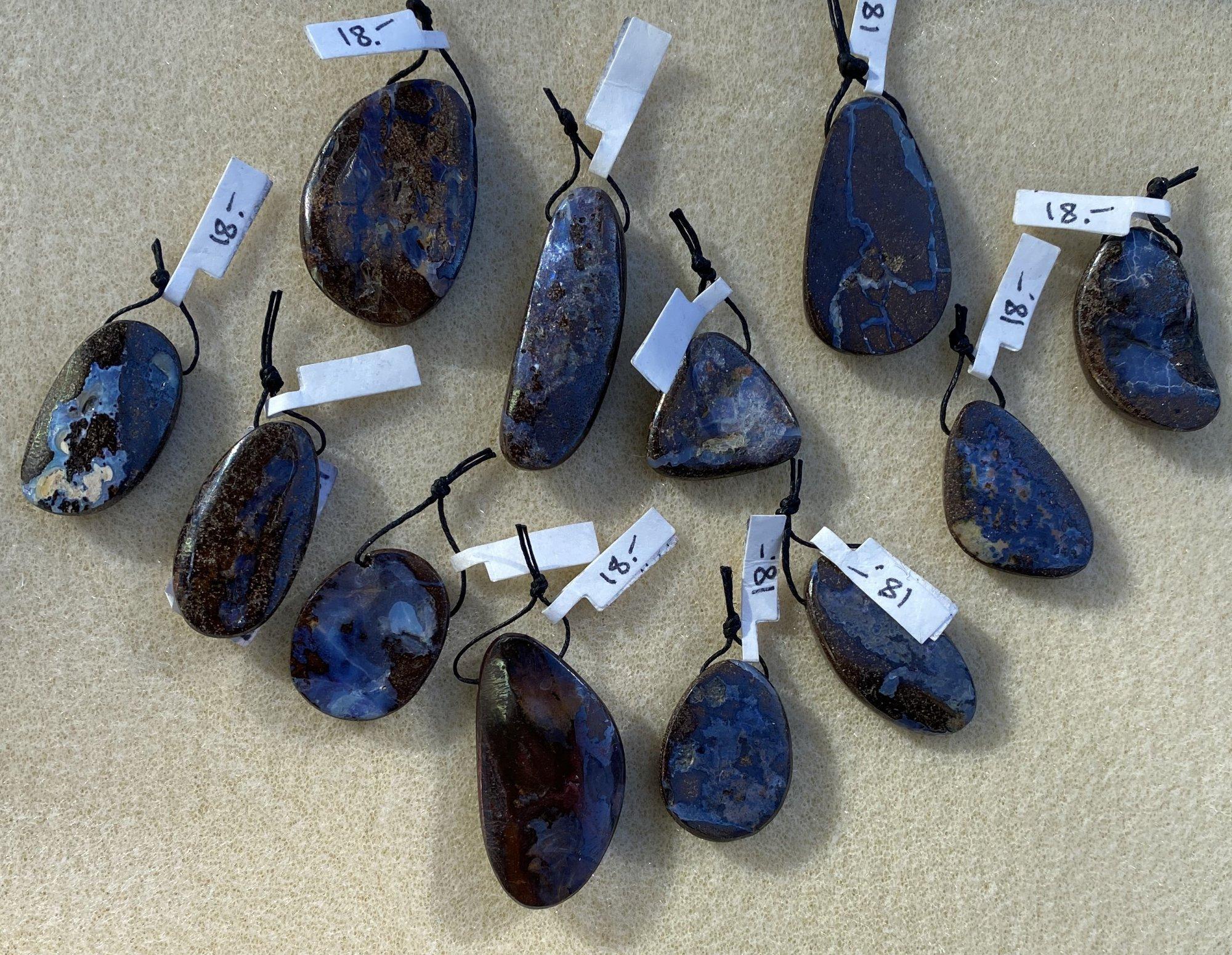 Boulder Opal Pendants
