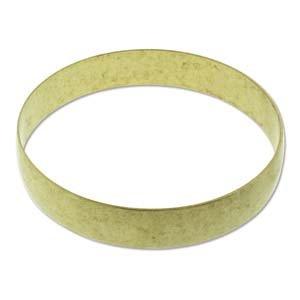 Brass Bracelet Blanks - Domed Bangle