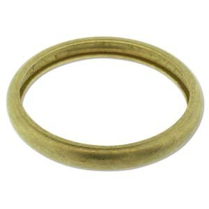 Brass Bracelet Blanks - Round Domed Bangle