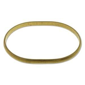 Brass Bracelet Blanks - Oval Bangle
