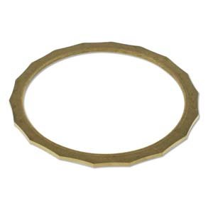 Brass Bracelet Blanks - Fancy Bangle