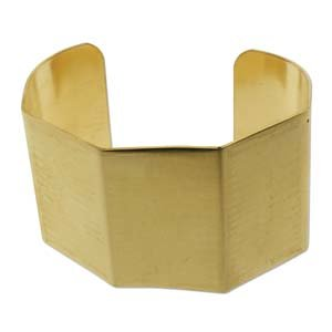 Brass Bracelet Blanks -Bends