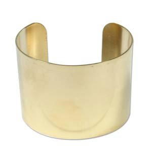 Brass Bracelet Blanks -Flat