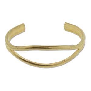 Brass Bracelet Blanks - Open