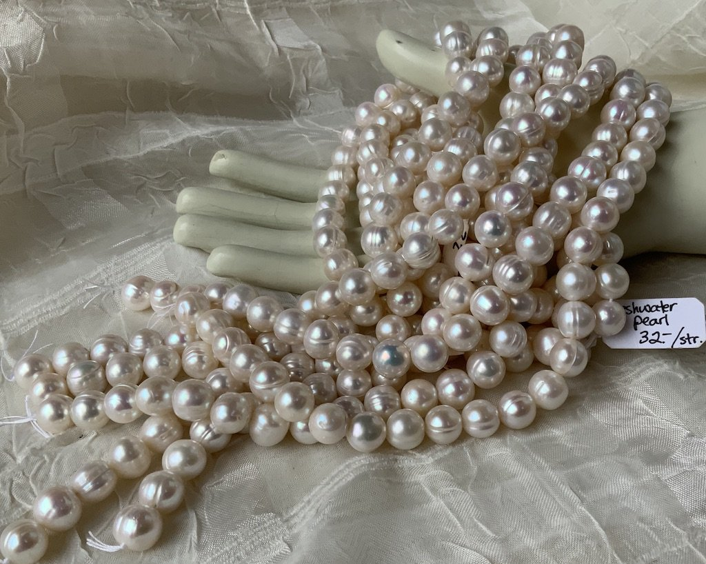 FW Pearl 10mm Circle Round