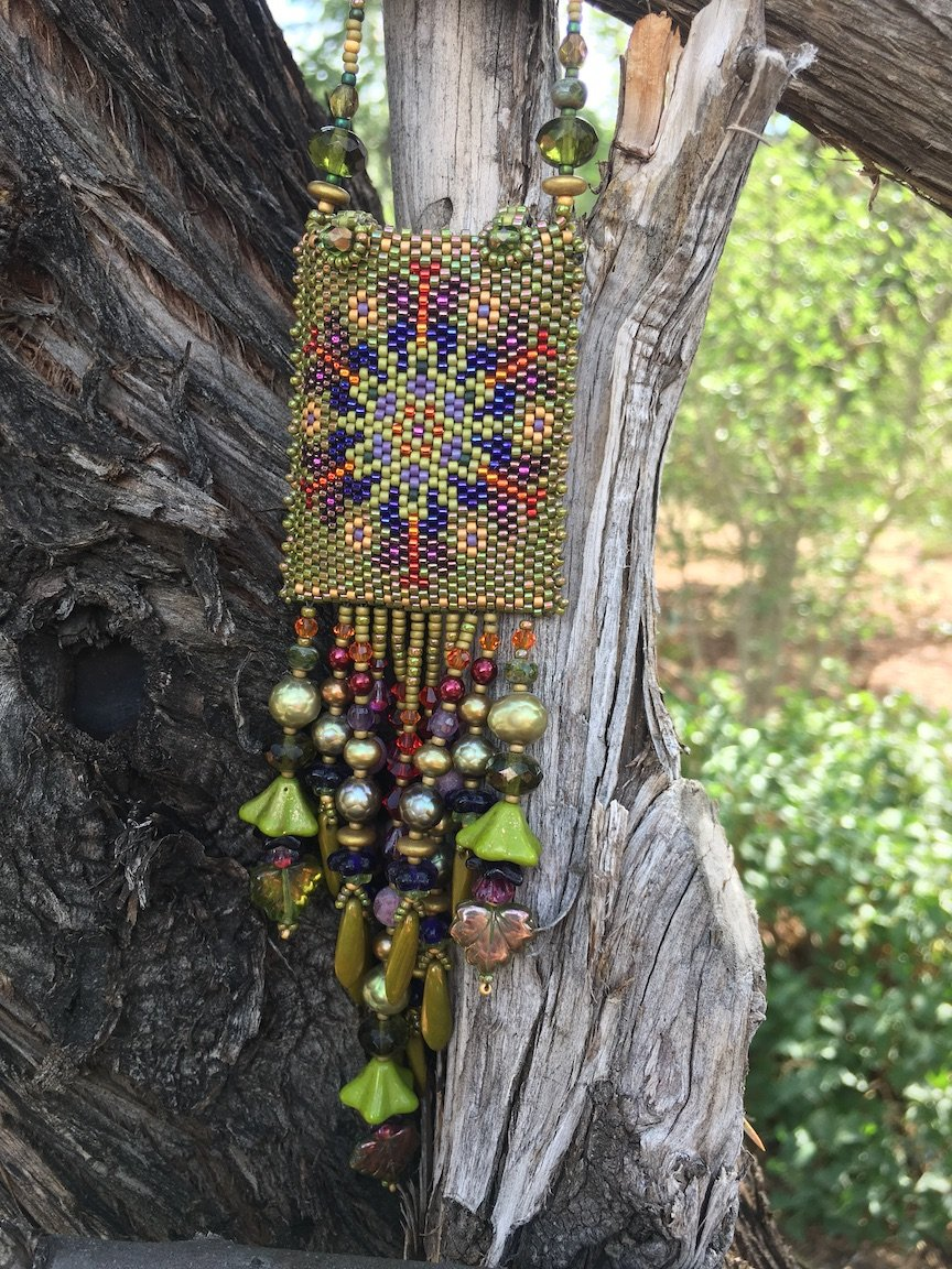 Beaded Amulet Bag (RP)
