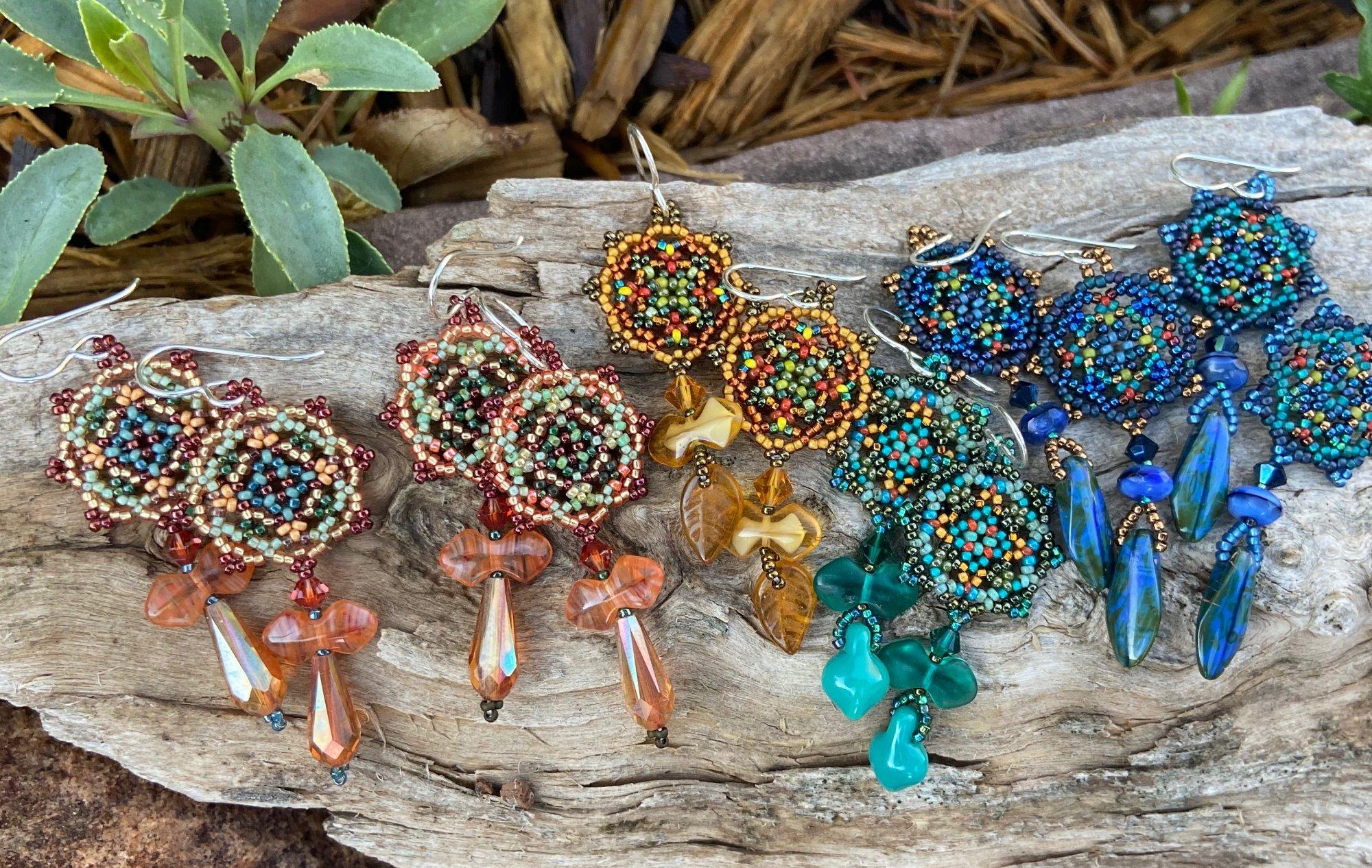 Lacy Mandala Earrings (SJC)