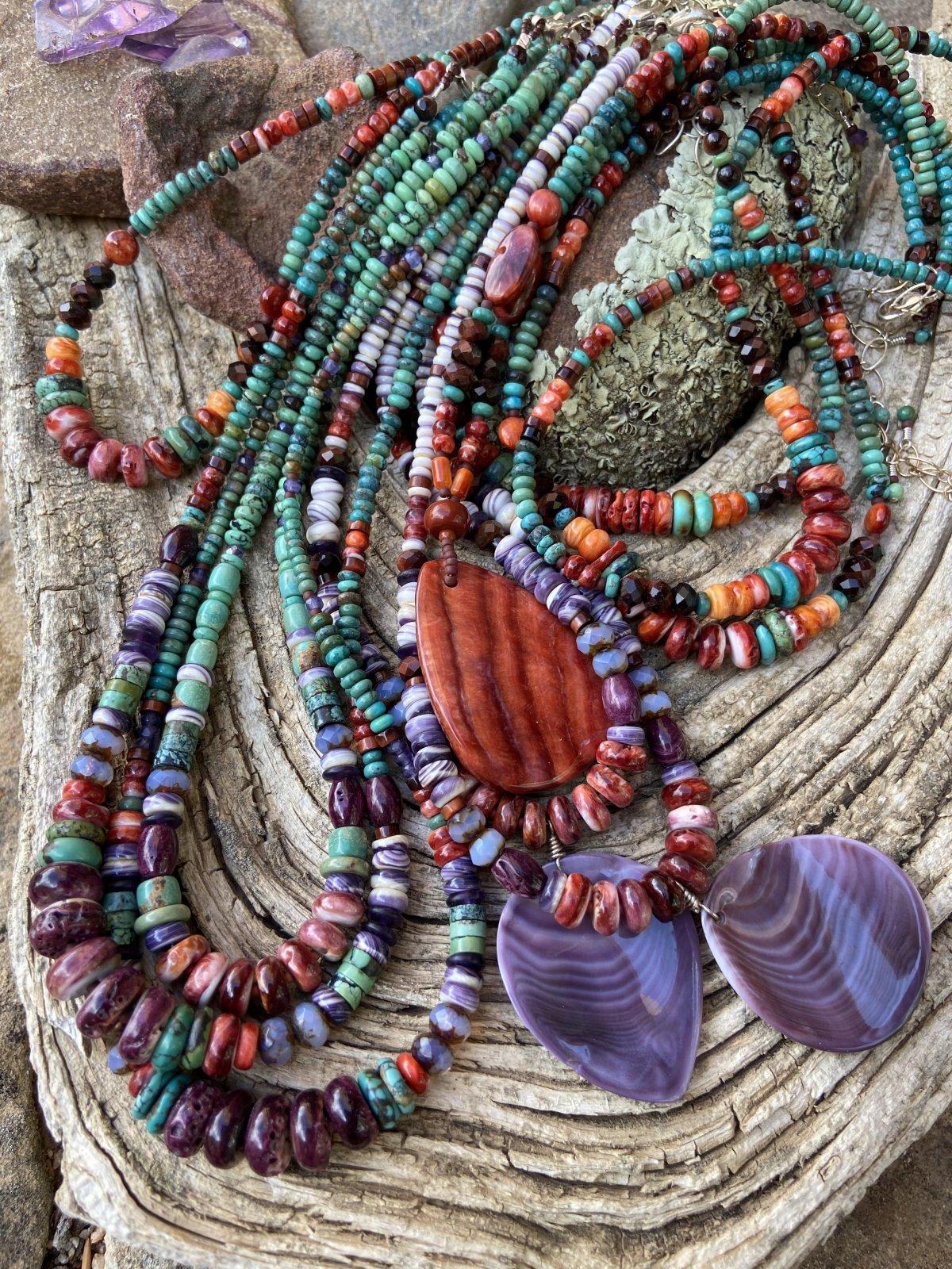 Southwestern Gemstone Necklace (SJC)
