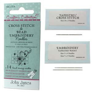 John James Cross Stitch & Embroidery Needles