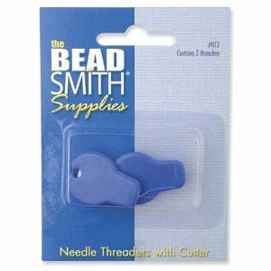 Needle Threader w/ Cutter 2Pcs