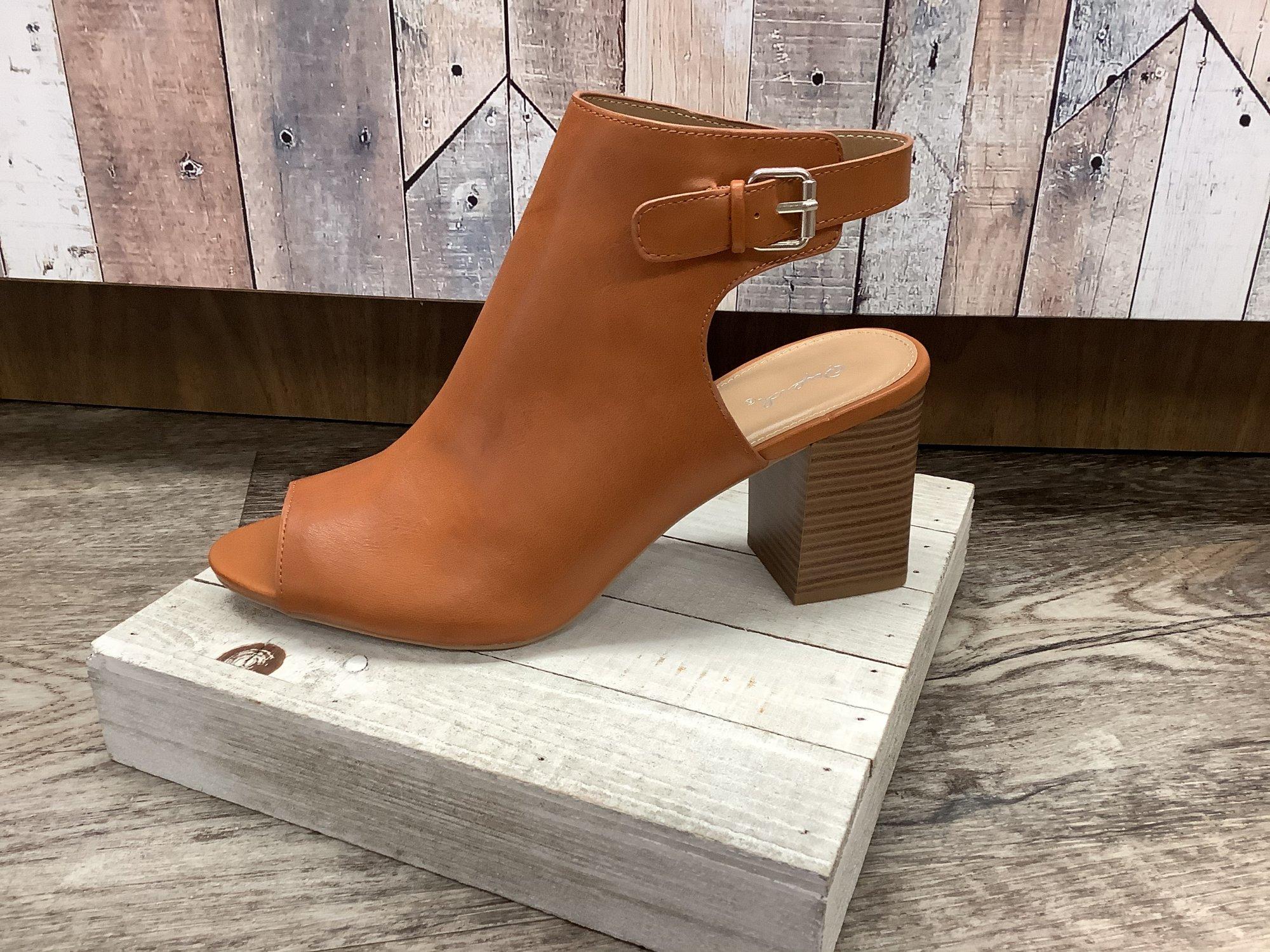 Blazin Sun Open Toe Ankle Boot Size 10