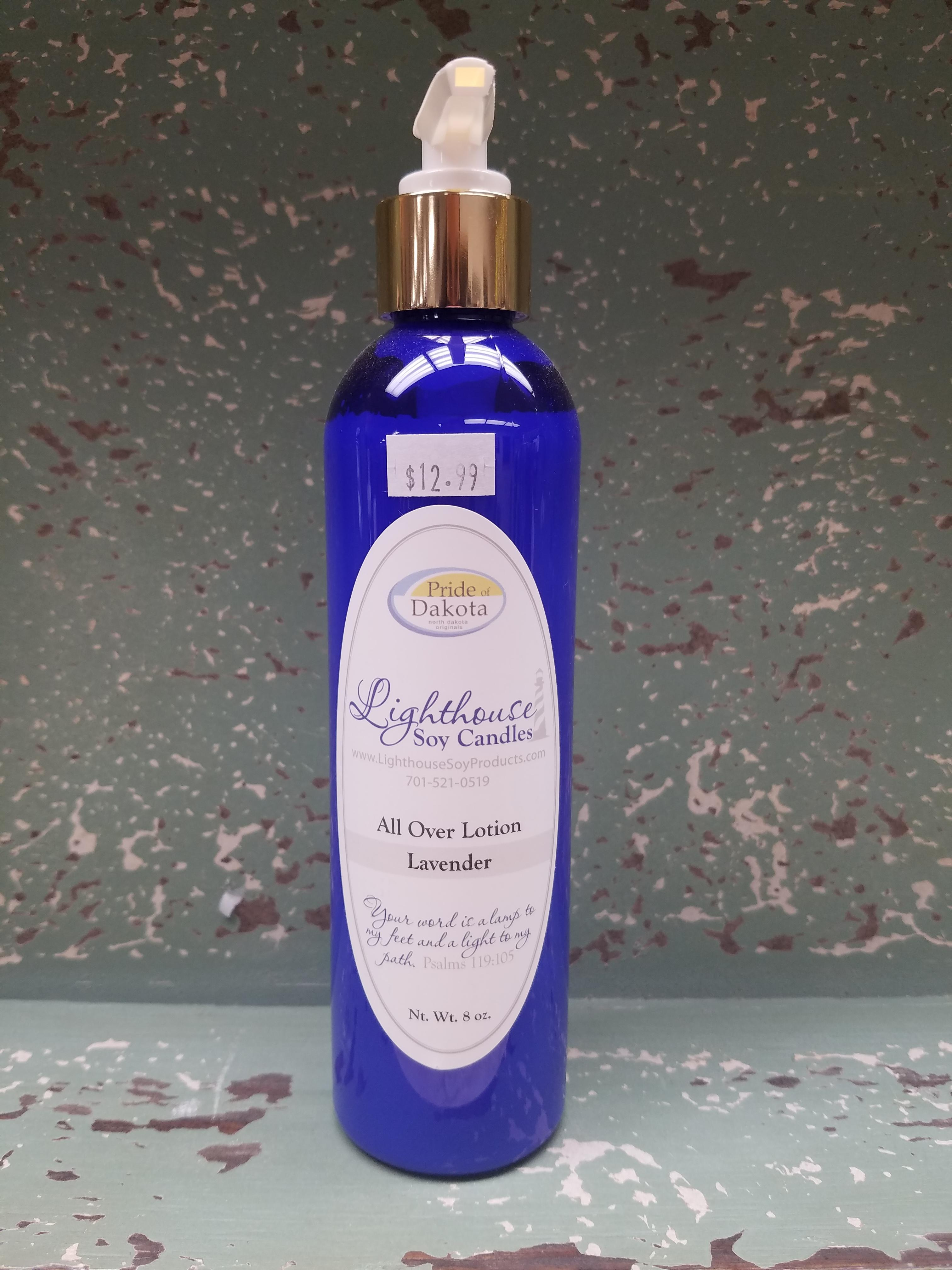 Lighthouse Soy 8oz All Over Lotion