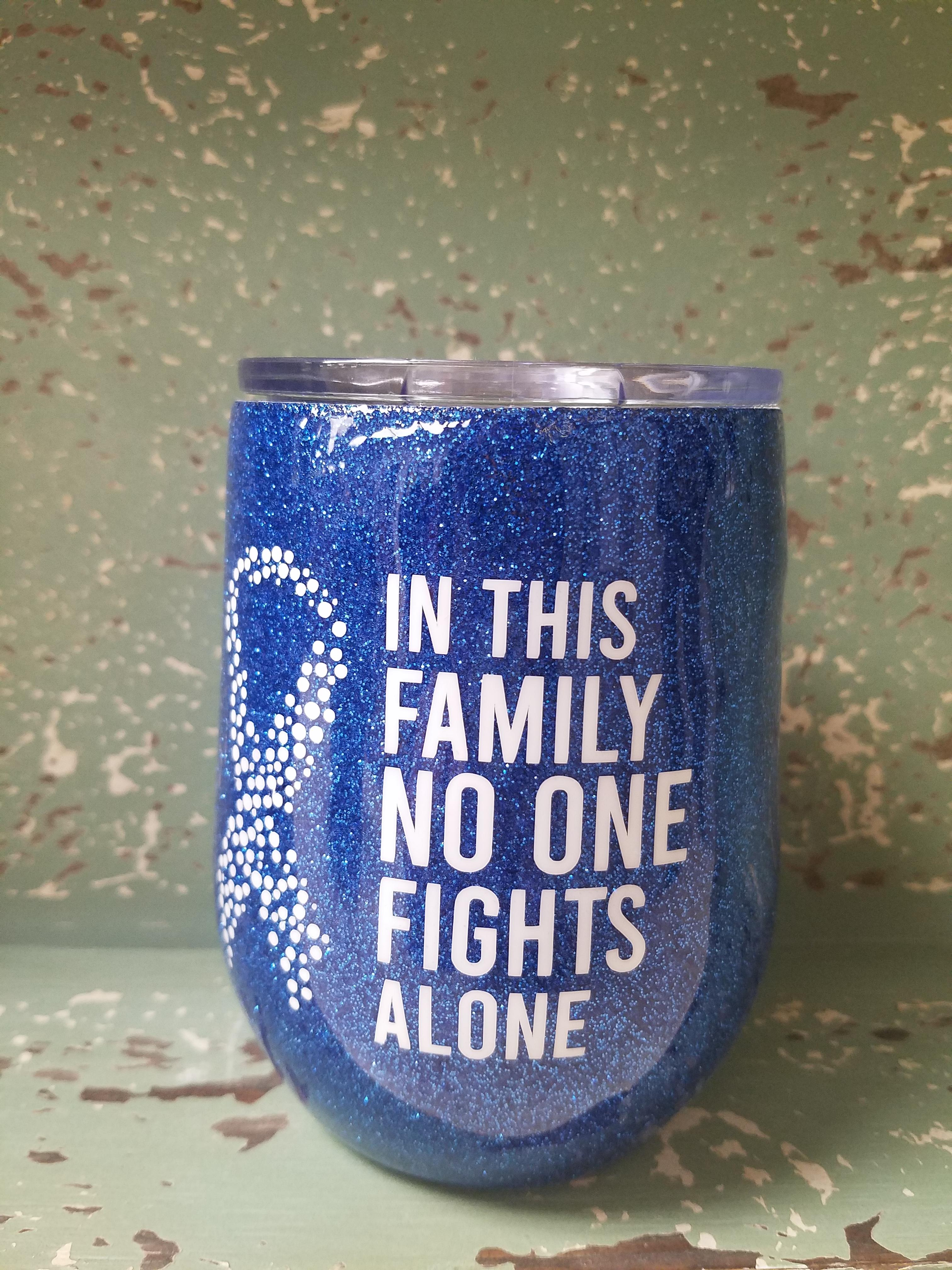 Diabetes Awareness Cups-In This Family No One Fights Alone