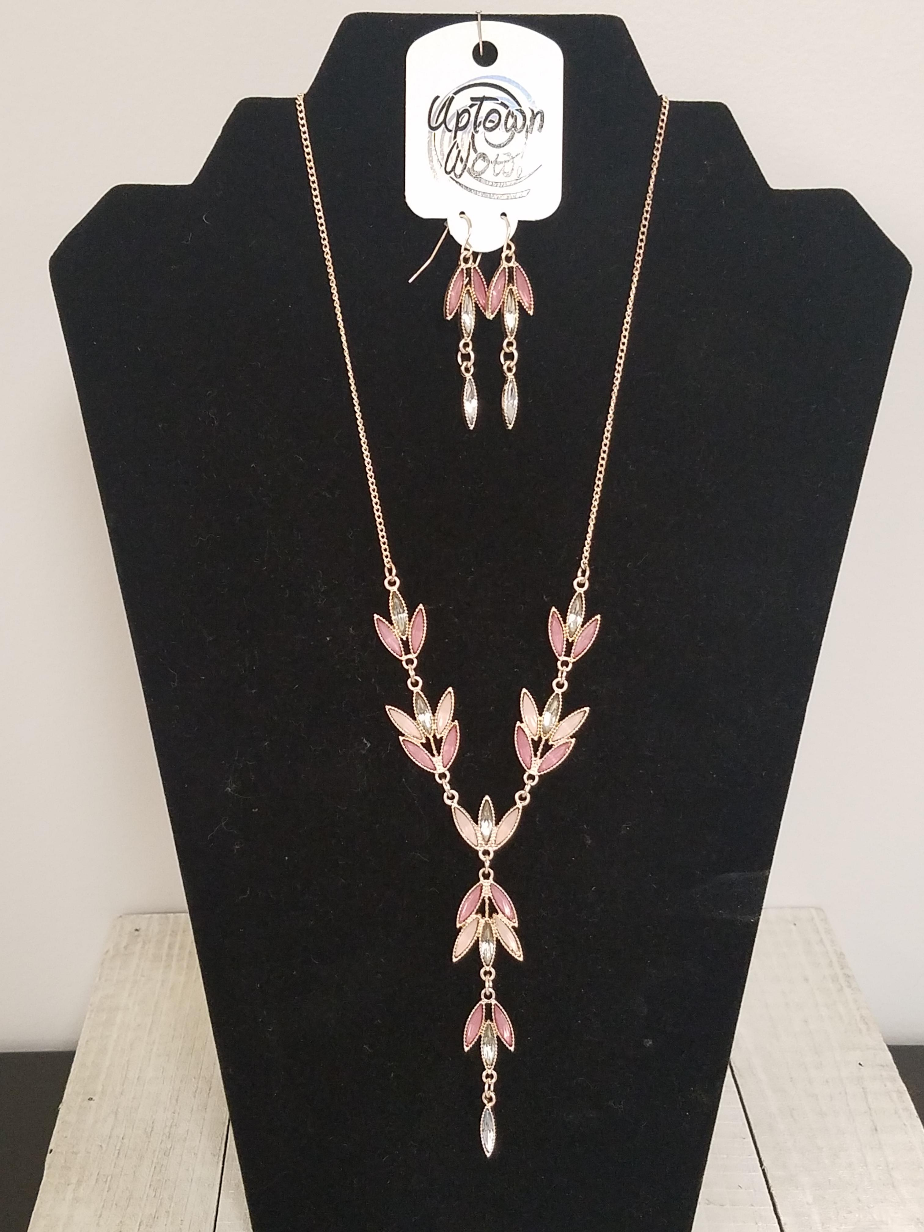 Summer Eve Necklace & Earring Set