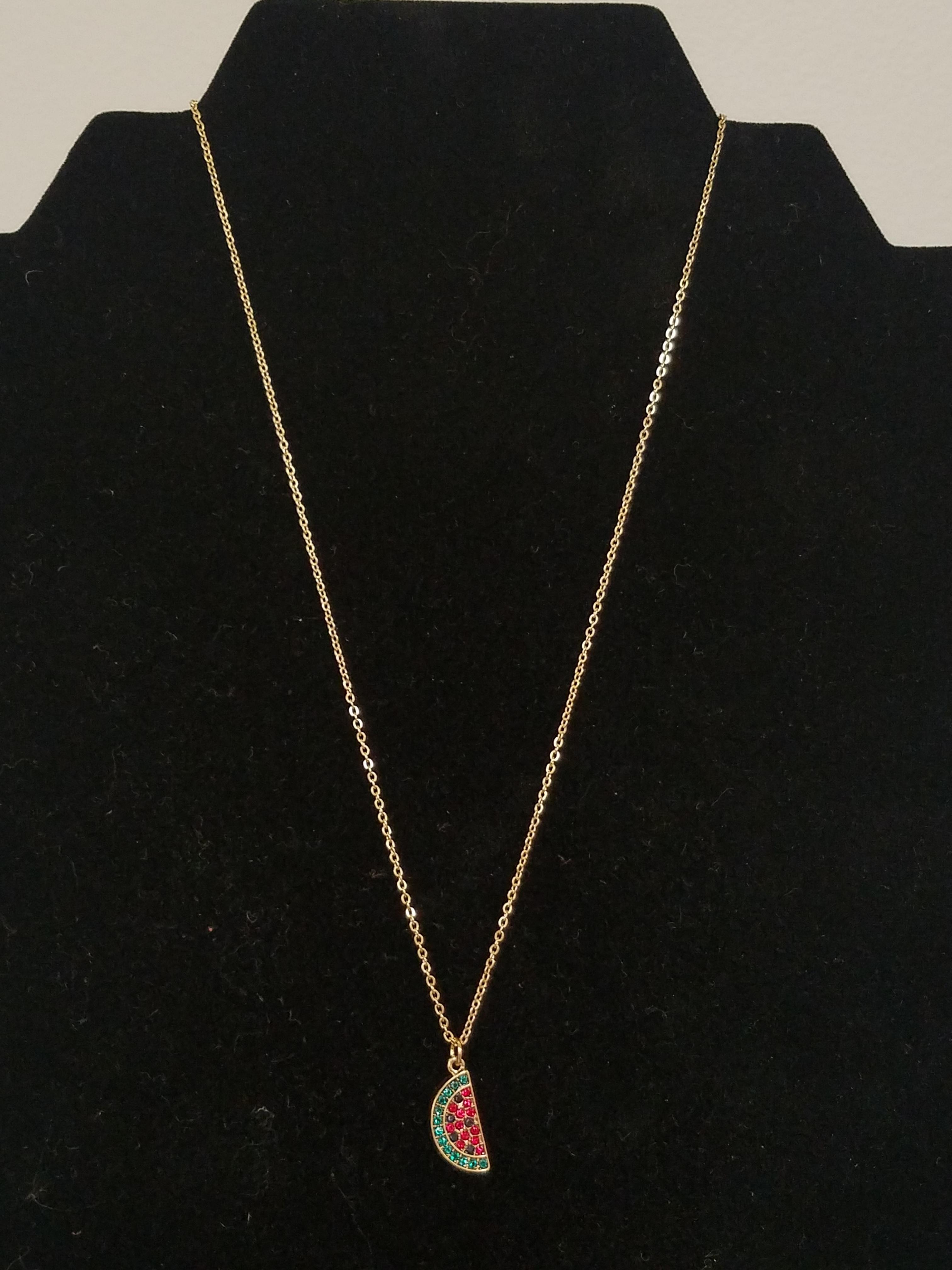 Girls Watermelon Necklace