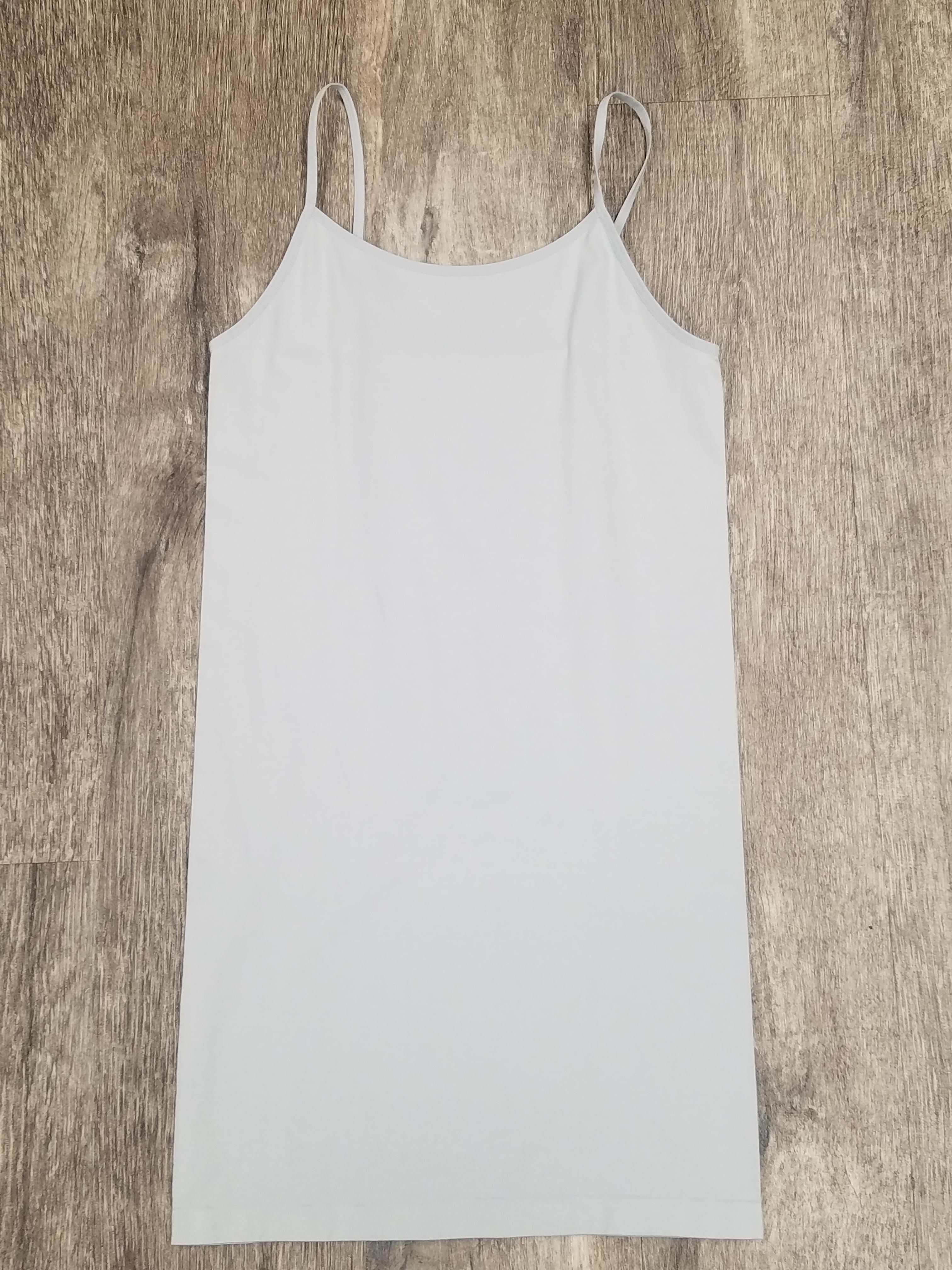 Light Gray Long Camisole