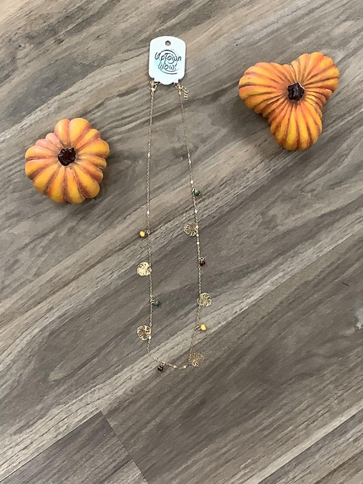 Autumn Gold Necklace