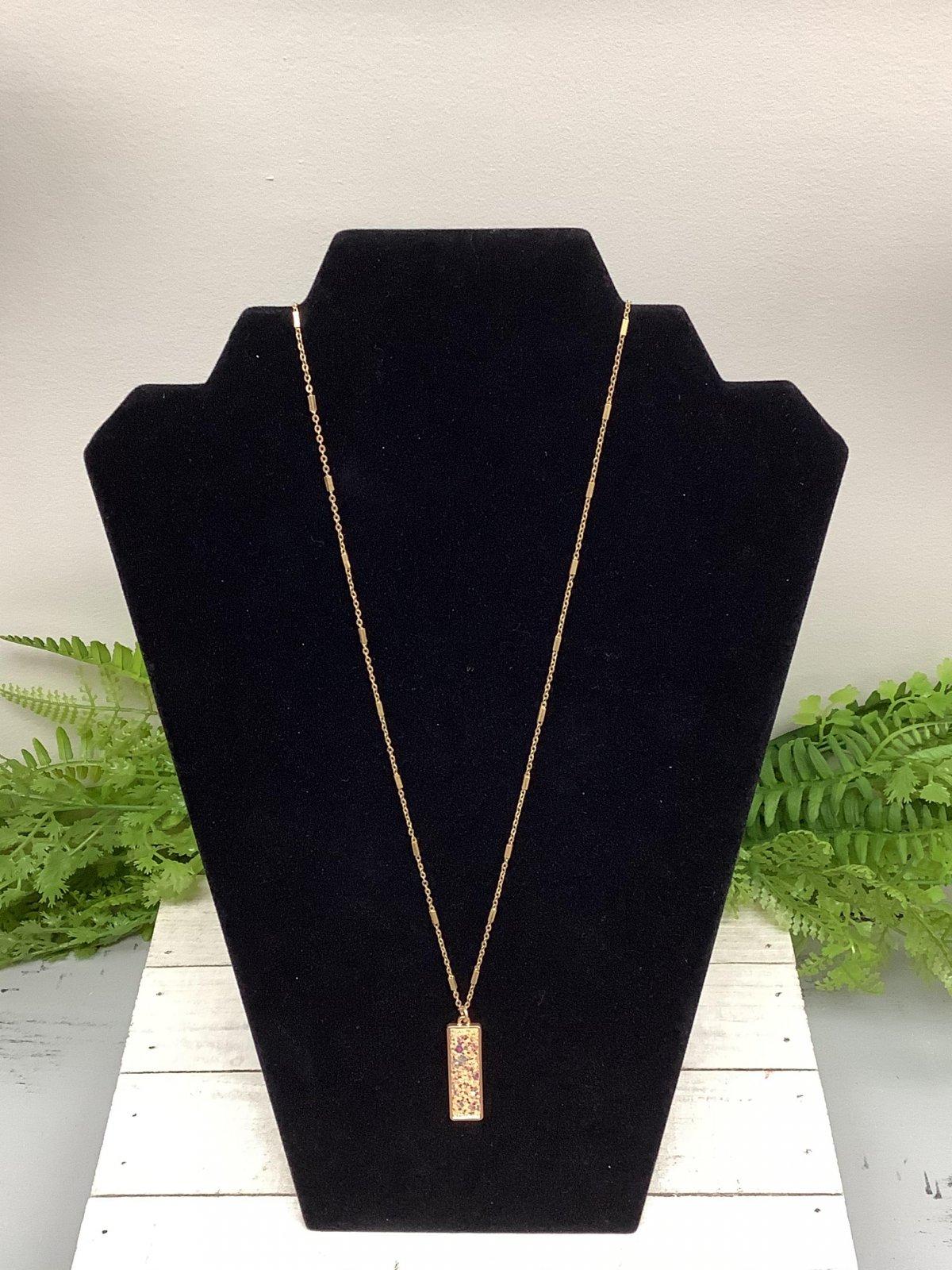 Princess Rose Gold Necklace