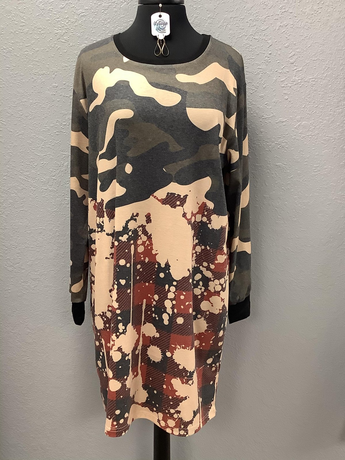 Camo Cool Dress *Curvy Approved*