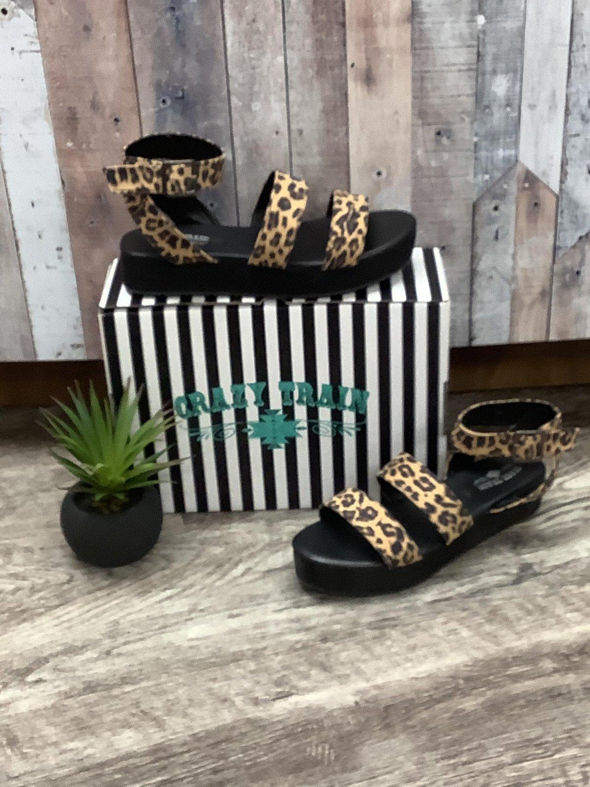 Leopard Print Sandal