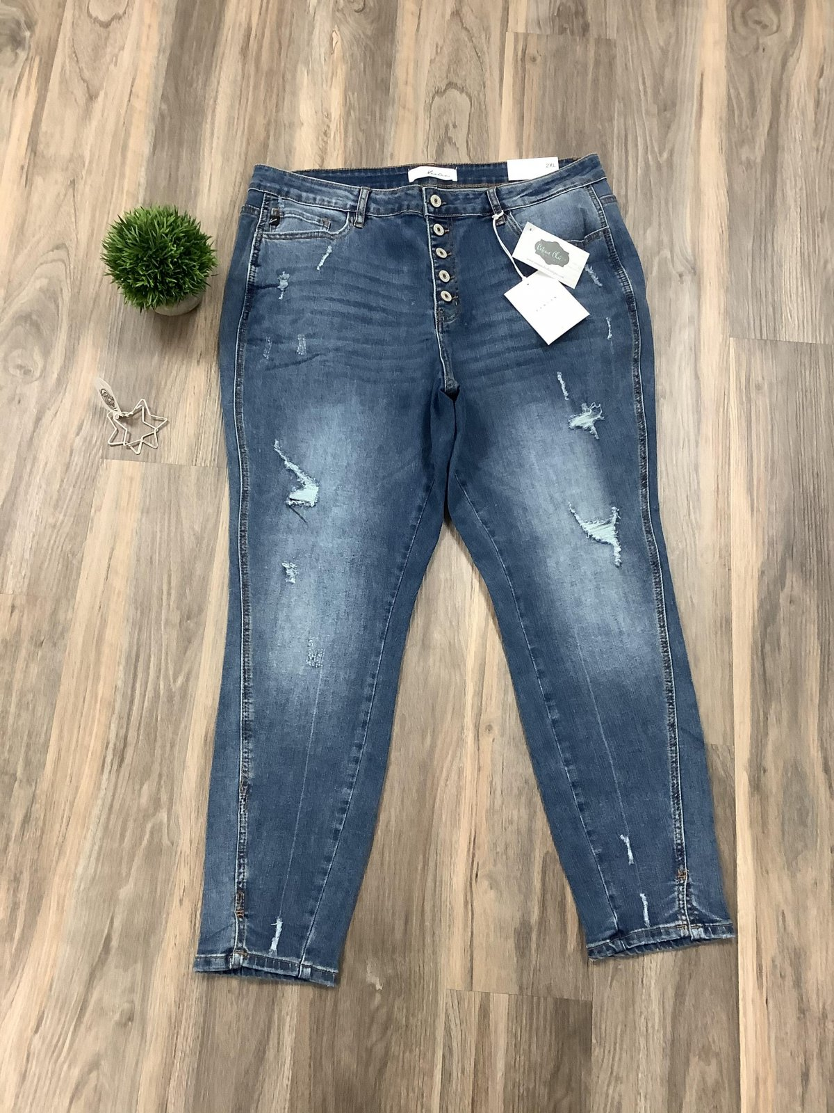 Kancan High Rise Ankle Skinny *Curvy Approved*