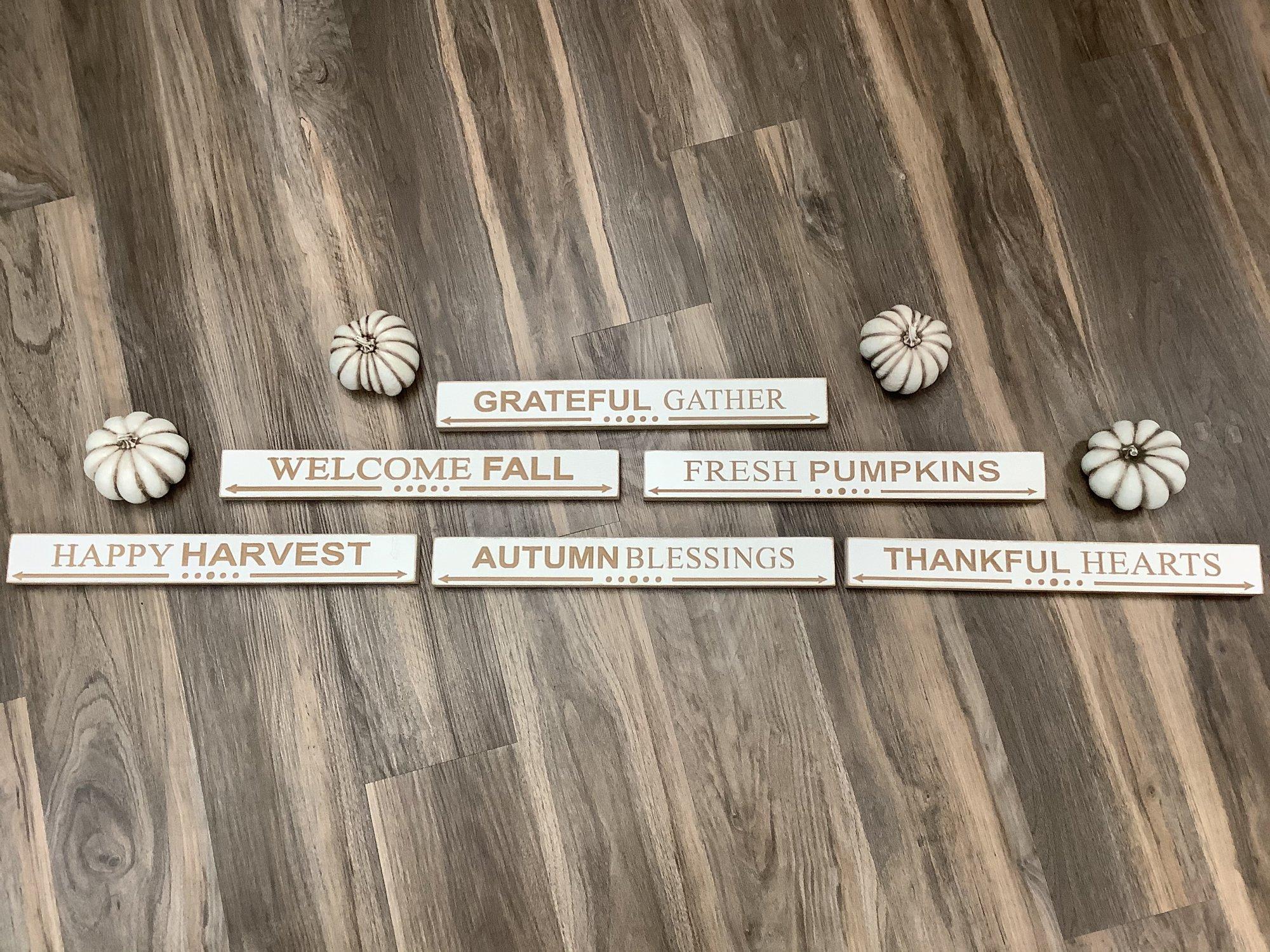Autumn Shelf Sitters