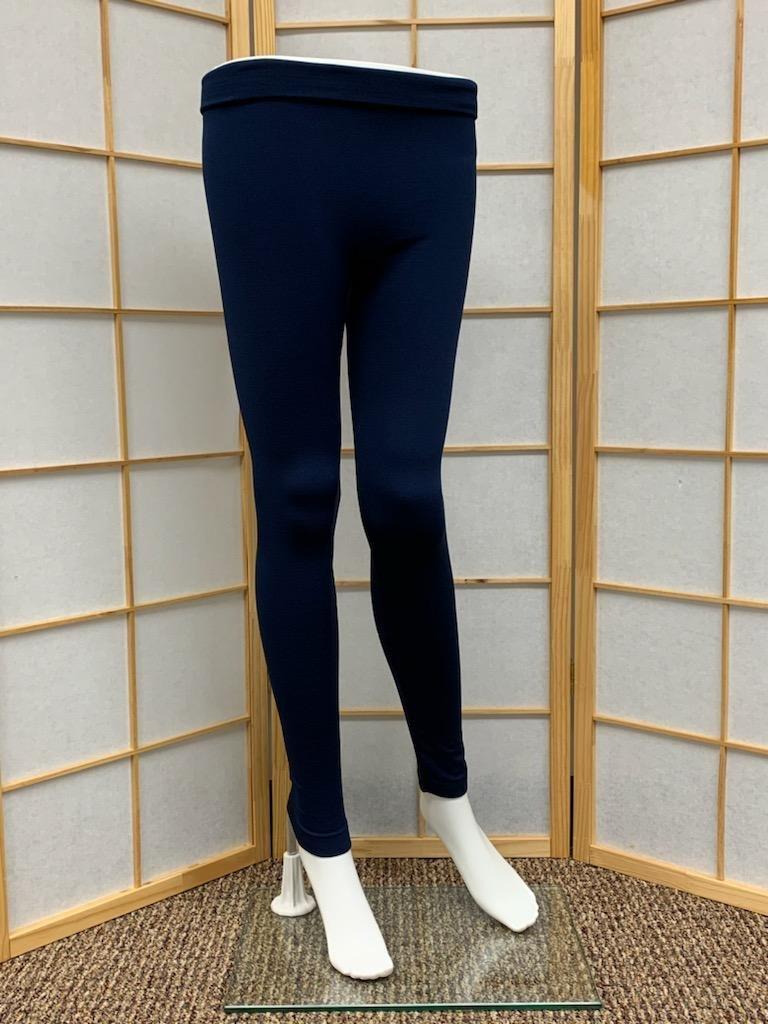 Navy Blue Fleece Lined Legging