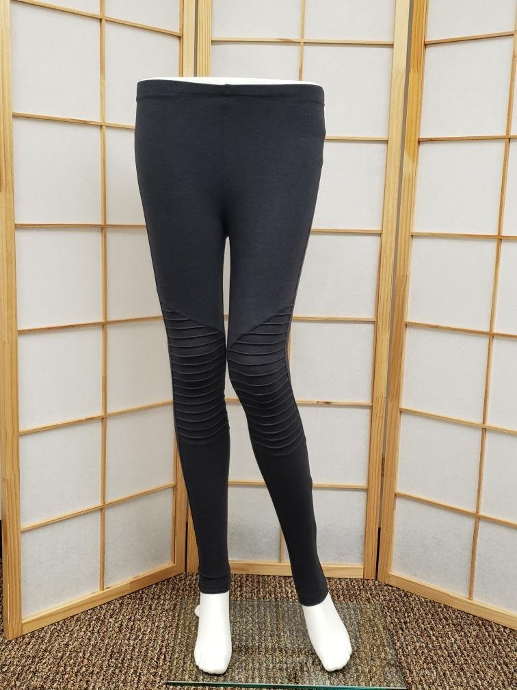 Charcoal Motto Leggings *Curvy Approved*